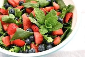 watermelon-blueberry-salad