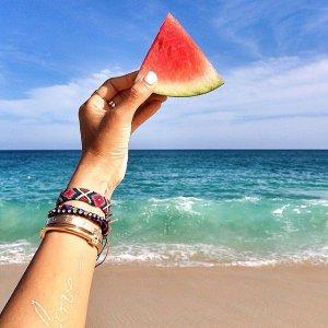 Watermelon-Slices-Beach